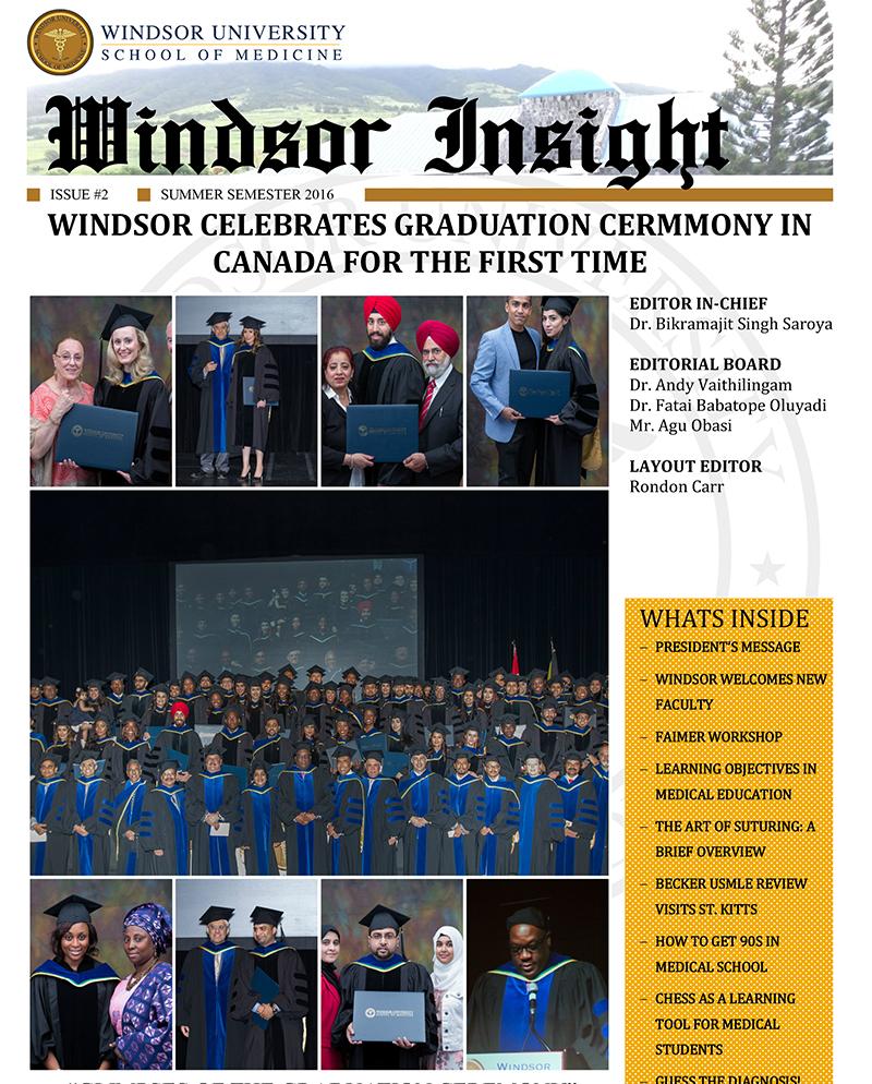 Windsor Insight Summer 2016